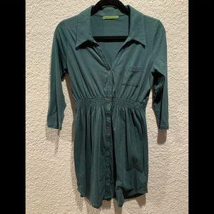 Velvet by Graham & Spencer Forrest Green Dress  M
